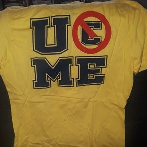 WWE Tops - WWE John Cena Yellow Shirt Size S Might Run Small!